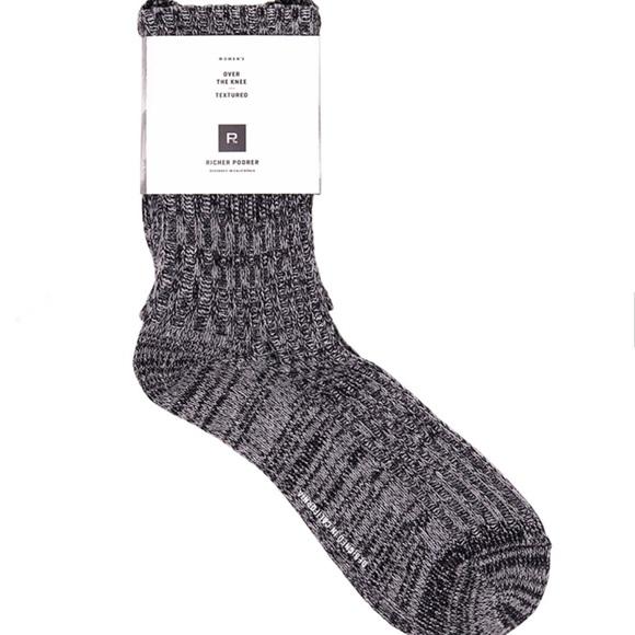 06ed80376 Richer Poorer Reina Textured Sock